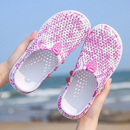 Traspirante Zoccoli Slippers Piscina Scarpe Mare Ciabatte Pantofola Ragazza Rosa Suadeex Clogs Sandali E Beach Da Spiaggia Donna wq7XZ1zt