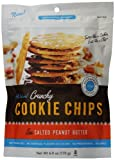 Hannah Max Baking All Natural Crunchy Cookie Chips, Sea Salted Peanut Butter, 6 Ounce (Pack of 15)