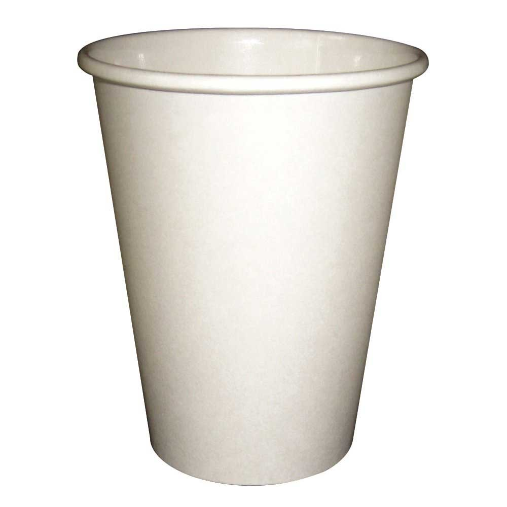 PerfecTouch 8 Ounce Insulated Paper Hot Cup Simply White -- 1000 per case.