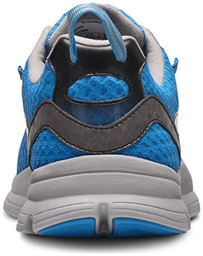 Dr. Comfort Meghan Women's Therapeutic Extra Depth Athletic Shoe: Blue 8 Wide (C-D) Lace by Dr. Comfort (Image #4)