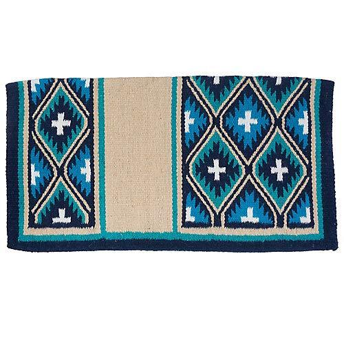 Tough 1 Sequoyah Wool Saddle Blanket Taupe by Tough 1