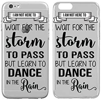 Amazoncom Iphone Case Dance Dancing In The Rain Quote Dance