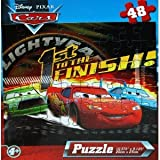 Disney Pixar Cars 48-Piece Jigsaw Puzzle (1st to the Finish)