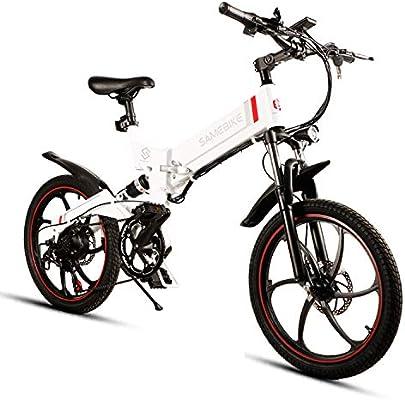 Samebike Bicicletas de montaña Plegables para Adultos con ...