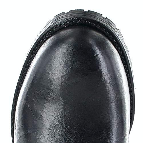 Fashion Uomo Stivali FB Boots Nero Chukka A1Cqdwda