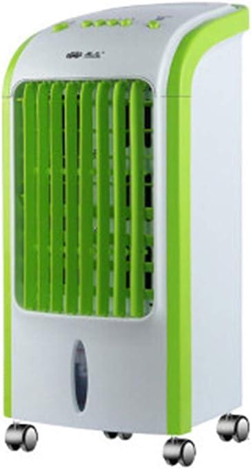 Mr. Fragile Verano Móvil Refrigeración Aire Acondicionado Ventilador Hogar Aire Frío Solo Frío Pequeño Aire Acondicionado Ventilador De Cristal De Hielo: Amazon.es: Hogar