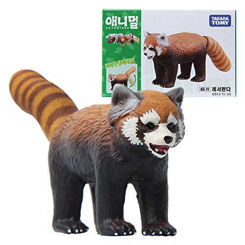 Takara Tomy ANIA AS-11 ANIMAL Red Panda Mini Action Figure Educational Toy