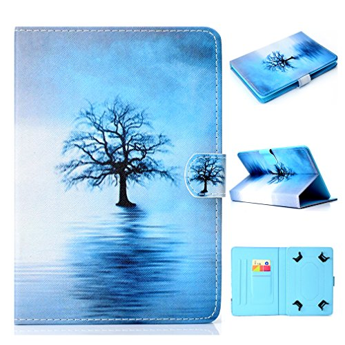 LMFULM Card Stand Case Ultra Case Color Inch Inch General 10 Purpose Leather 10 for Bookstyle PU Pattern for Magnetic of Heart Closure Tablet 25 Love Slot Case Foldable Thin Pad BBzqRxr