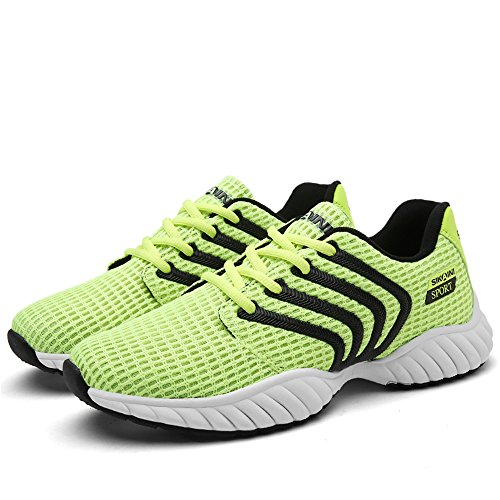 CLAMON Stylish Casual Turnschuhe Laufschuhe Innovative Breathable Design, beste Anti - Rutsch - Design Grün