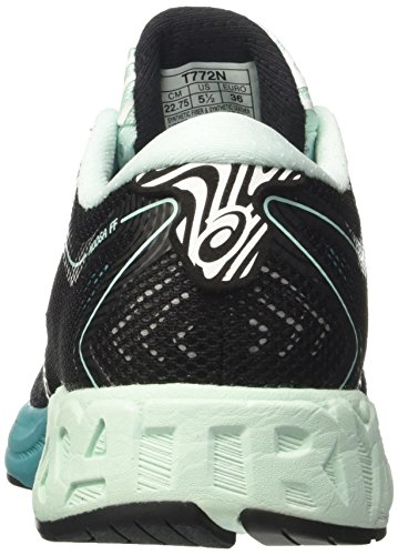 Women's Asics Viridian Black Noosa Running Bay Green 8 UK Multicolor Ff 5 Shoes aqfqAd