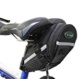 OuTera Bike Saddle Bag Bike Seat Bag Bicycle Seat Pack Cycling Seat Bag Bontrager Seat Pack Strap-on Bag for Your Spare Tube Tire Removal Wedges and Bontrager Torx Wrench Set[1 Year Warranty]