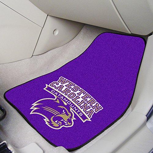 FANMATS NCAA Western Carolina University Catamounts Nylon Face Carpet Car Mat