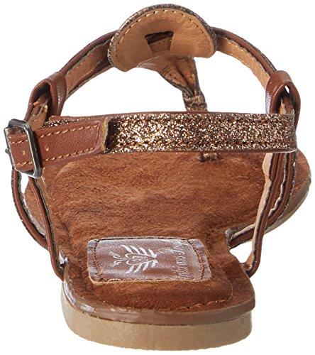 Fritzi aus Preussen Fashion Sandals 03 - Sandalias con cuña Mujer Marrón (Bronze)