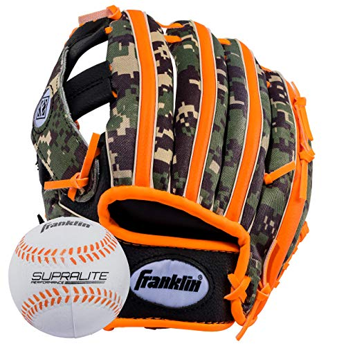 (Franklin Sports RTP Teeball Performance Glove & Ball Combo (9.5