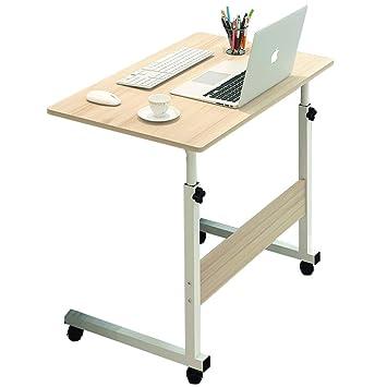Mesa de Estudio Juvenil Mesita de Noche Mesa de Ordenador portátil Plegable Mesa de Cama móvil pequeña Mesa Plegable Mesa de Estudio Infantil: Amazon.es: ...