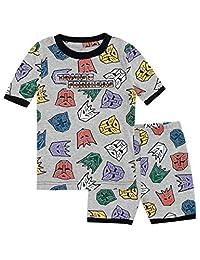 Transformers Boys Autobots and Decepticons Pajamas