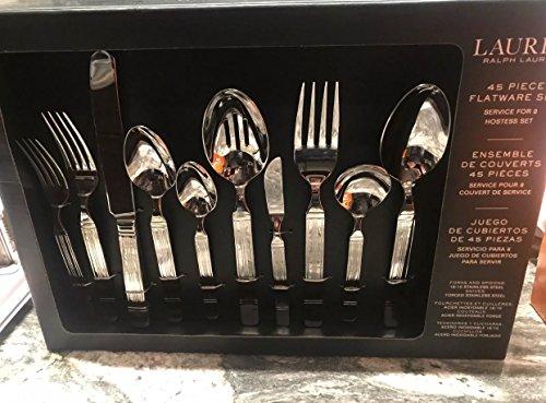 ralph lauren harrison 45 piece flatware set. Service for 8 p.