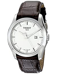 Tissot Men's T0354101603100 Couturier Silver Dial Watch