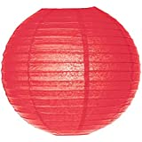 10pcs Premium Hand made Round Paper led Lantern for spring and Mid-Autumn Festival,marriage decoration red