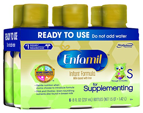 Enfamil for Supplementing Milk Based Infant Formula, 8 Ounce, 6 Count