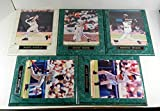 Lot of (5) Early 2000's Florida Marlins Signed 8x10 Photos w/ Plaques Autos - Autographed MLB Photos