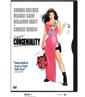 Amazoncom Miss Congeniality Sandra Bullock Michael Caine