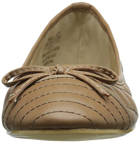 Scarpe Ricercate Womens Patty Ballet Flat Cammello