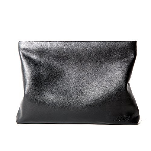 Genuine Leather Envelope Clutch Bag Business Portfolio Briefcase for Men ()