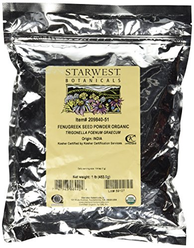 Starwest Botanicals Organic Fenugreek Powder product image