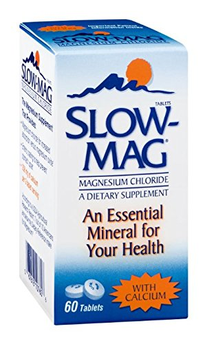 Slow-Mag Slow-Mag Magnesium Chloride With Calcium, 60 tabs P