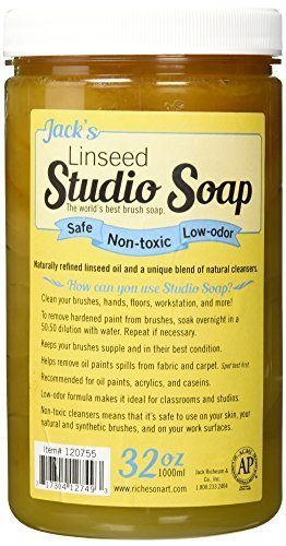 - Jack Richeson 1000 ml Linseed Studio Soap