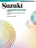 img - for Ensembles for Guitar, Vol 1 (Suzuki Guitar School) book / textbook / text book