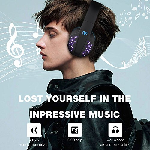 Headphones & Earbuds - Bluetooth Over-Ear Headphone