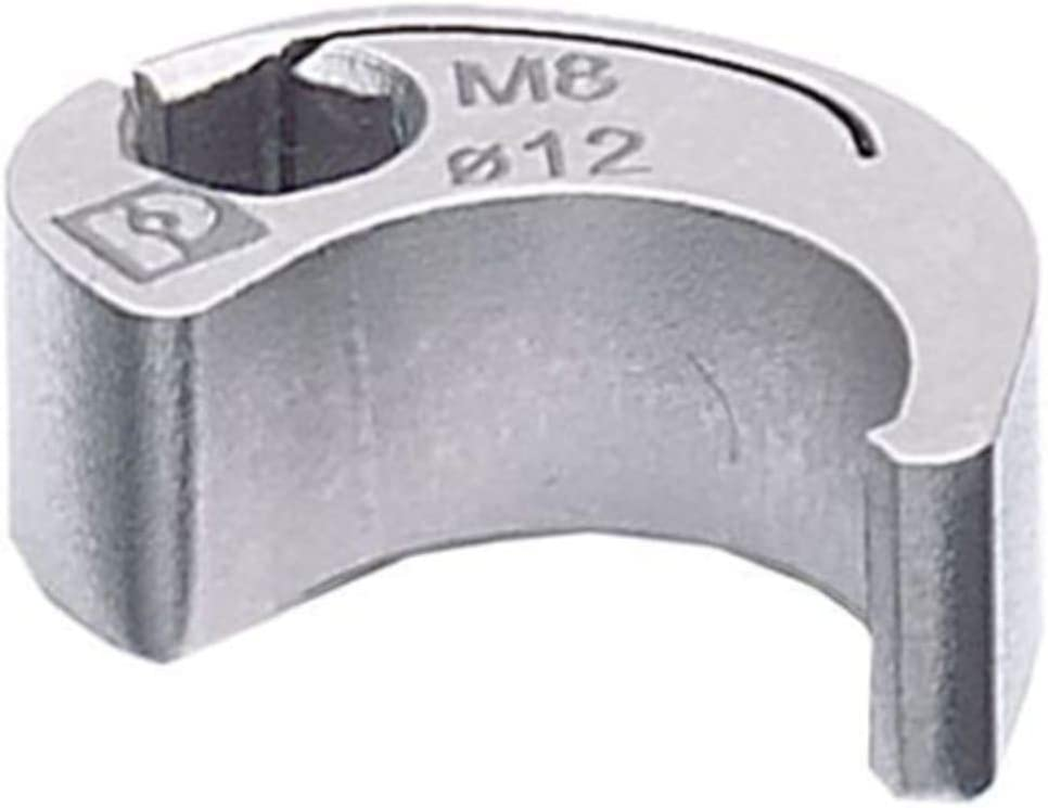 Nut; M8; QUICKON; 4mm hex drive