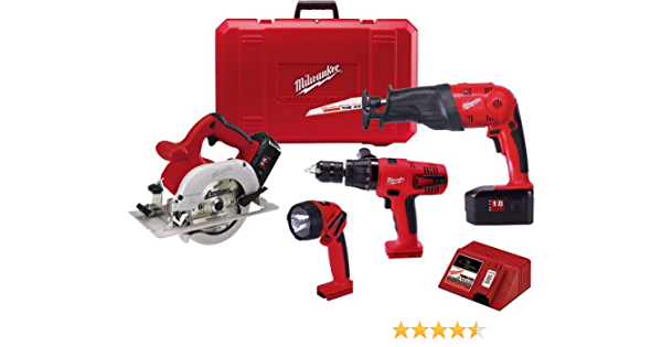 Milwaukee 2607-20 M18 V18 Compact 1//2 in Hammer Drill w// 1.5Ah Battery /& Charger