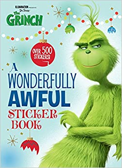A Wonderfully Awful Sticker Book (illumination's The Grinch) por Mary Man-kong Gratis