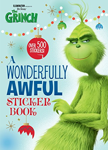 A Wonderfully Awful Sticker Book (Illumination's The Grinch) (Illumination Presents Dr. Seuss' the Grinch)
