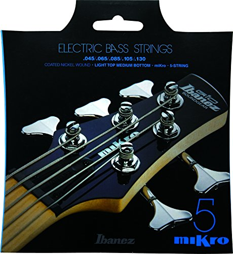 Ibanez Mikro Bass Guitar Strings Iebs5cmk Iebs Coated Nickel Bass Guitar Strings  Medium