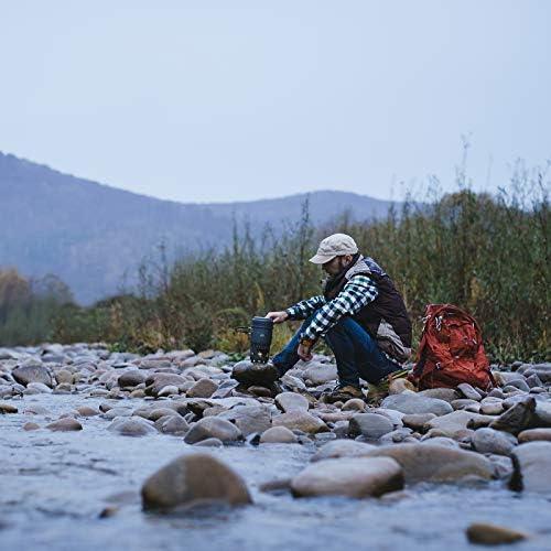 Esbit estufa de alcohol y trekking Cookset