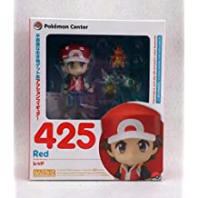 Game Pocket Monster Pokemon Center Ash Ketchum with Fire Dragon Nendoroid 425 # Red Ver. Action Figure