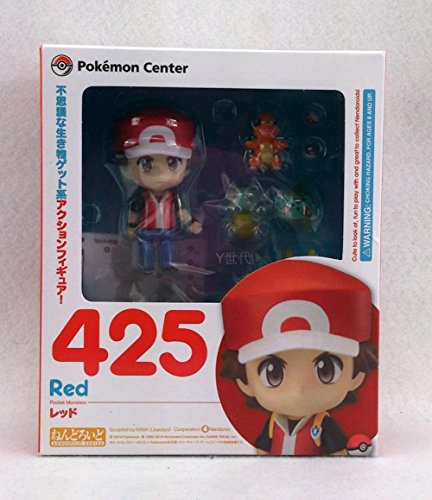[Game Pocket Monster Pokemon Center Ash Ketchum with Fire Dragon Nendoroid 425 # Red Ver. Action] (Old Ash Ketchum Costume)