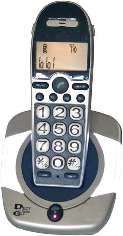 TeléFono BotóN Vintage Pantalla Grande Old Man Machine Identificador Llamadas Luminoso TeléFono InaláMbrico Digital Inicio Fijo Bienvenido: Amazon.es: Hogar