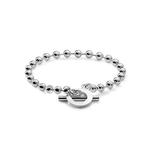 f5f145e473 Bracciale Gucci Silver YBA010294001: Amazon.it: Gioielli