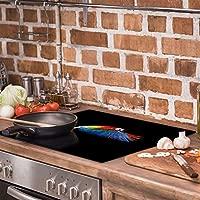 QTA - Placa de cubierta para cocina eléctrica (60 x 52, 1 ...