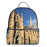 Church School Backpack for Boys Teen Girls primary school students