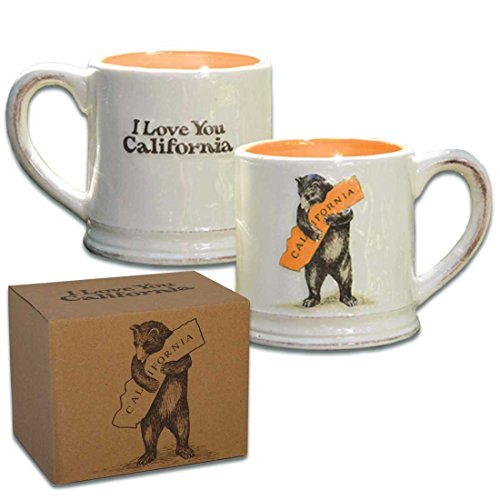 SF Mercantile California Bear Hug Ceramic Mug