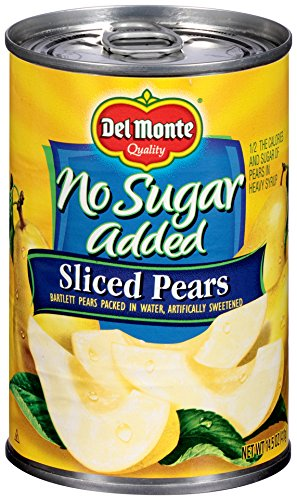 Low Carb Yogurt (Del Monte Low Carb Sliced Pears, 14.5 oz)