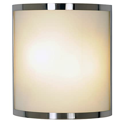 Monument 617604 contemporary wall sconce brushed nickel 10 in monument 617604 contemporary wall sconce brushed nickel 10 in aloadofball Image collections