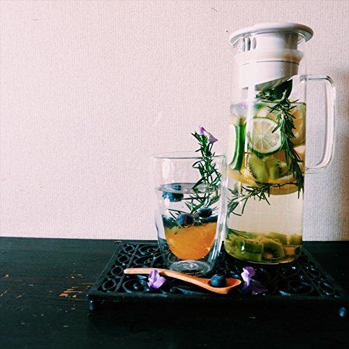 Bodum Biasca Ice Green Tea Jug, 40 oz, White by Bodum (Image #3)