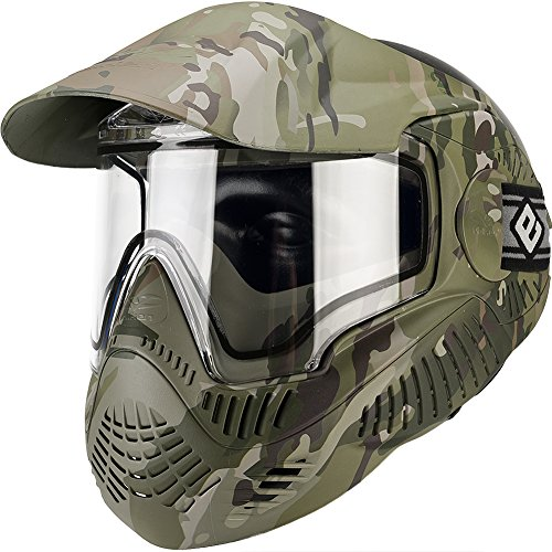 Evike Valken MI-7 Full Face Mask w/ Thermal Lens - ANSI Rated - Scorpion V-Cam - (Scorpion Face Mask)